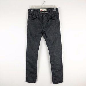 Levi's 510 Skinny Boy's Dark Gray Jeans 16 REG
